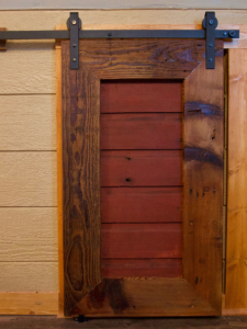 barn wood doors from reclaimed lumber