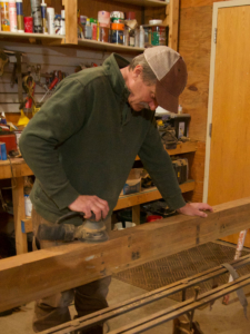 building custom furniture from reclaimed wood