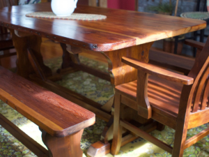 custom projects from salvaged wood